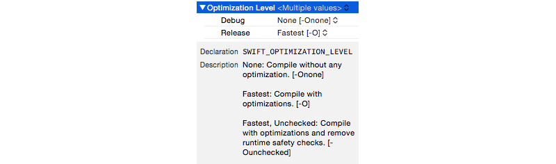 SWIFT_OPTIMIZATION_LEVEL