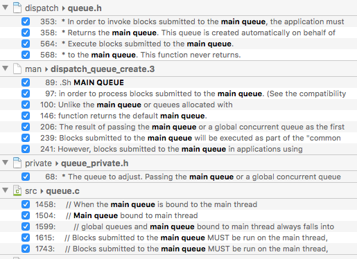 Blocks submitted to the main queue MUST be run on the main thread